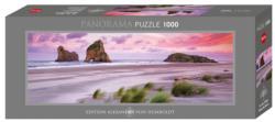 Wharariki Beach Landscape Panoramic Puzzle