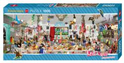 New Year's Eve Collage Panoramic Puzzle