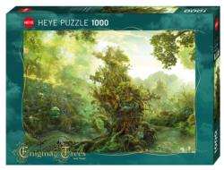 Tropical Tree Fantasy Jigsaw Puzzle
