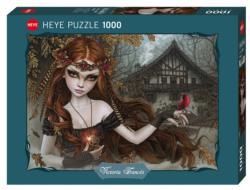 Redbird Gothic Jigsaw Puzzle