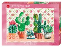 Cactus Family Flowers Jigsaw Puzzle