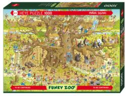 Monkey Habitat Cartoons Jigsaw Puzzle