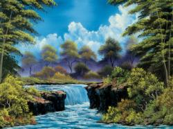 Summer:  Joy of Puzzles with Bob Ross Summer Jigsaw Puzzle