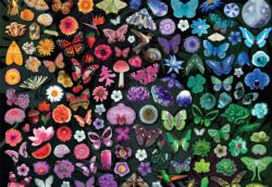 Twilight Garden Butterflies and Insects Jigsaw Puzzle