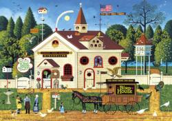 The Bird House Americana & Folk Art Large Piece