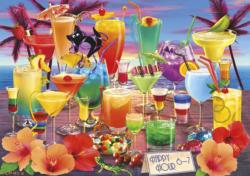 Happy Hour Food and Drink Jigsaw Puzzle