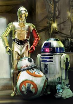 Star Wars™: Droids Star Wars Large Piece