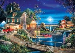Autumn Memories Lakes / Rivers / Streams Jigsaw Puzzle