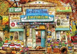 Brown's General Store Americana & Folk Art Jigsaw Puzzle