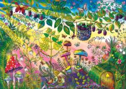 Morning Magic (Enchanted Forest) Fantasy Coloring Puzzle