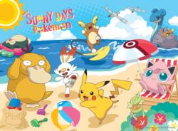 Pokemon Beach Day Video Game Children's Puzzles