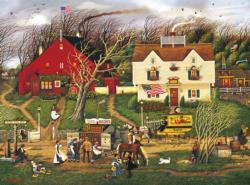 Fireside Companions Main Street / Small Town Jigsaw Puzzle