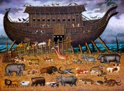 Noah and Friends Boats Jigsaw Puzzle