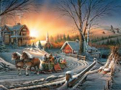 The Pleasures of Winter - Scratch and Dent Winter Jigsaw Puzzle