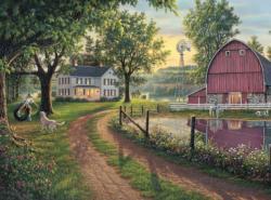The Road Home Farm Jigsaw Puzzle
