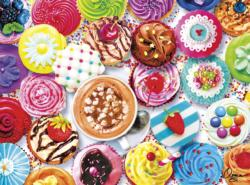 Cupcakes & Cocoa Sweets Jigsaw Puzzle