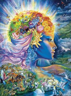 The Presence of Gaia Surreal Jigsaw Puzzle