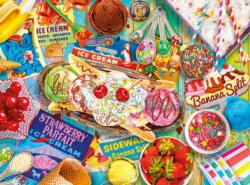 Banana Split Sweets Jigsaw Puzzle
