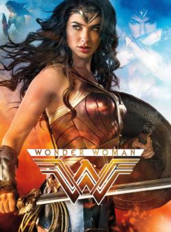 Wonder Woman Super-heroes Glow in the Dark Puzzle