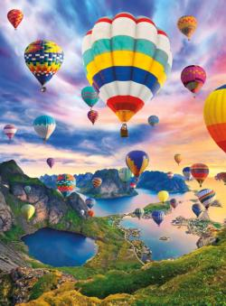 Kiss The Sky Balloons Jigsaw Puzzle