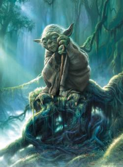 Star Wars™ Fine Art Collection - Yoda Star Wars Jigsaw Puzzle