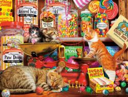 Sweet Shop Kittens Cats Jigsaw Puzzle