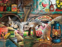Laid-Back Tom Cats Jigsaw Puzzle