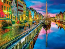Copenhagen (Cities in Color) Amsterdam Jigsaw Puzzle
