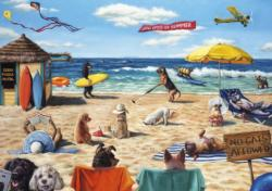 Dog Days of Summer Summer Jigsaw Puzzle