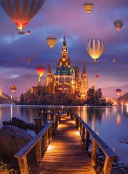 BLANC Series: Mystic Kingdom Balloons Jigsaw Puzzle