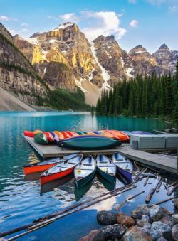 Blanc Series: Lake Moraine Lakes / Rivers / Streams Jigsaw Puzzle