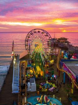 Santa Monica Pier - Scratch and Dent California Large Piece