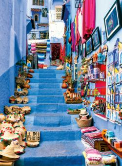 Blue City of Morocco Africa Large Piece