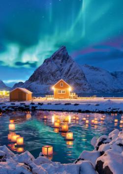 Northern Lights Alaska Jigsaw Puzzle