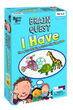 Brain Quest I Have Game Sports