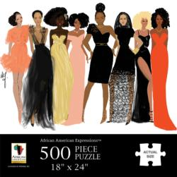 Sister Friends African American Jigsaw Puzzle