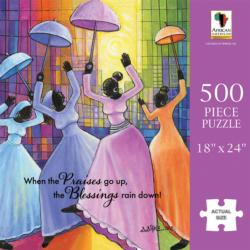 Praises Go Up - Scratch and Dent African American Jigsaw Puzzle