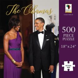 The Obamas African American Jigsaw Puzzle