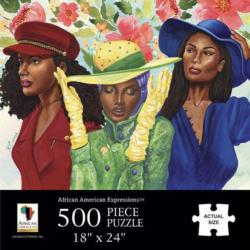 Sunday Morning African American Jigsaw Puzzle