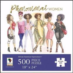 Phenomenal Woman African American Jigsaw Puzzle
