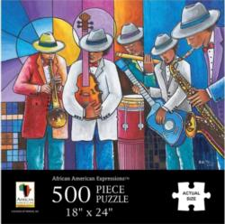 All That Jazz Music Jigsaw Puzzle