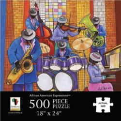 Jazz Band Music Jigsaw Puzzle