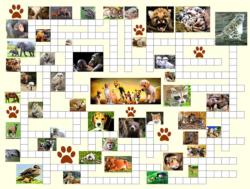Animal Nursery Crossword Puzzle Jigsaw Puzzle