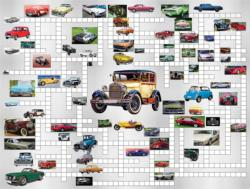 Classic Cars Crossword Puzzle Jigsaw Puzzle