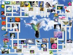 Taking Flight Crossword Puzzle Jigsaw Puzzle