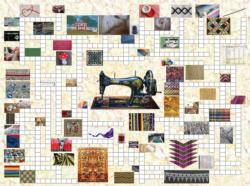 Counting the Stitches Crossword Puzzle Jigsaw Puzzle