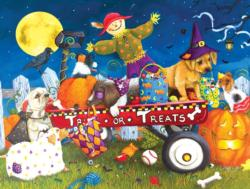 Halloween Puppies Jigsaw Puzzle