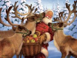 Santa's Treat Christmas Jigsaw Puzzle