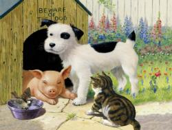 That's My Place Animals Jigsaw Puzzle
