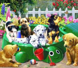 Puppy Nursery Dogs Jigsaw Puzzle